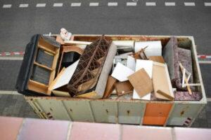 Entrümpelung der Wohnungen