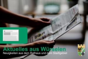 Newsletter der Stadt Würselen
