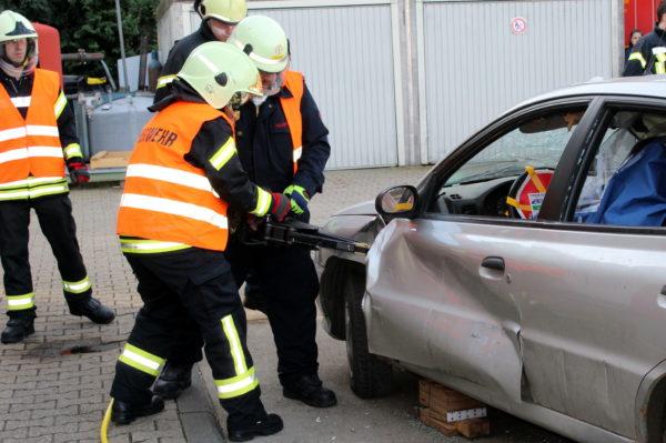 Ausbildung Technische Hilfeleistung der Feuerwehr