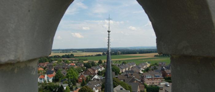 Blick vom Kirchturm Broichweiden