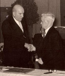 Ehrenbürger Wilhelm Bock