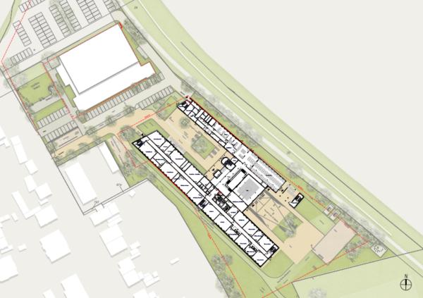 Neubau Gesamtschule: Freianlagen