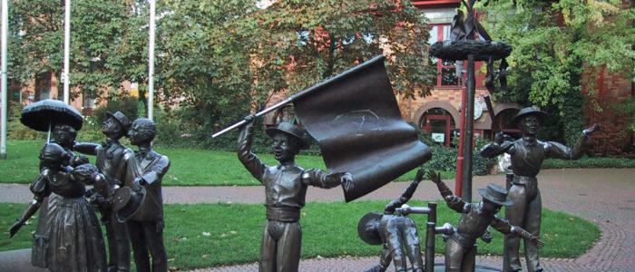 Jungenspielbrunnen am Morlaixplatz
