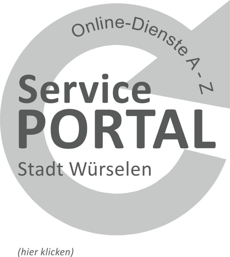 Logo Serviceportal Stadt Würselen Onlinedienste A-Z