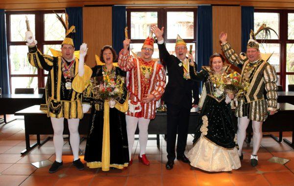 Prinzenempfang 2017